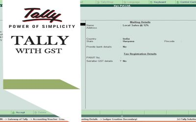 Accounts with Tally